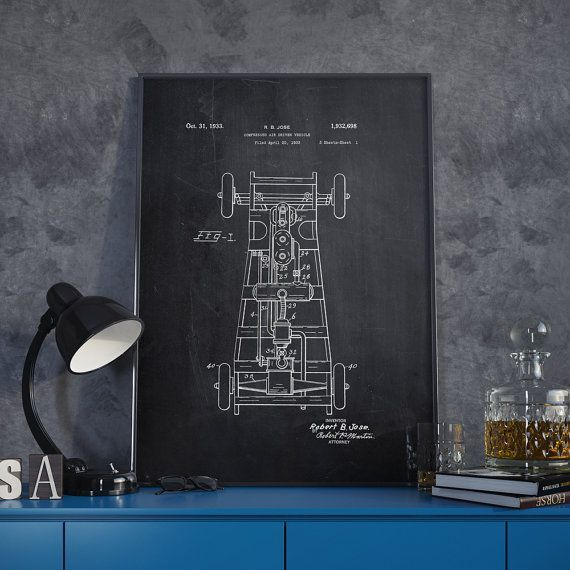 Driven vehicle patent print car patent blueprint poster by dalumna driven vehicle patent print car patent blueprint poster by dalumna malvernweather Images