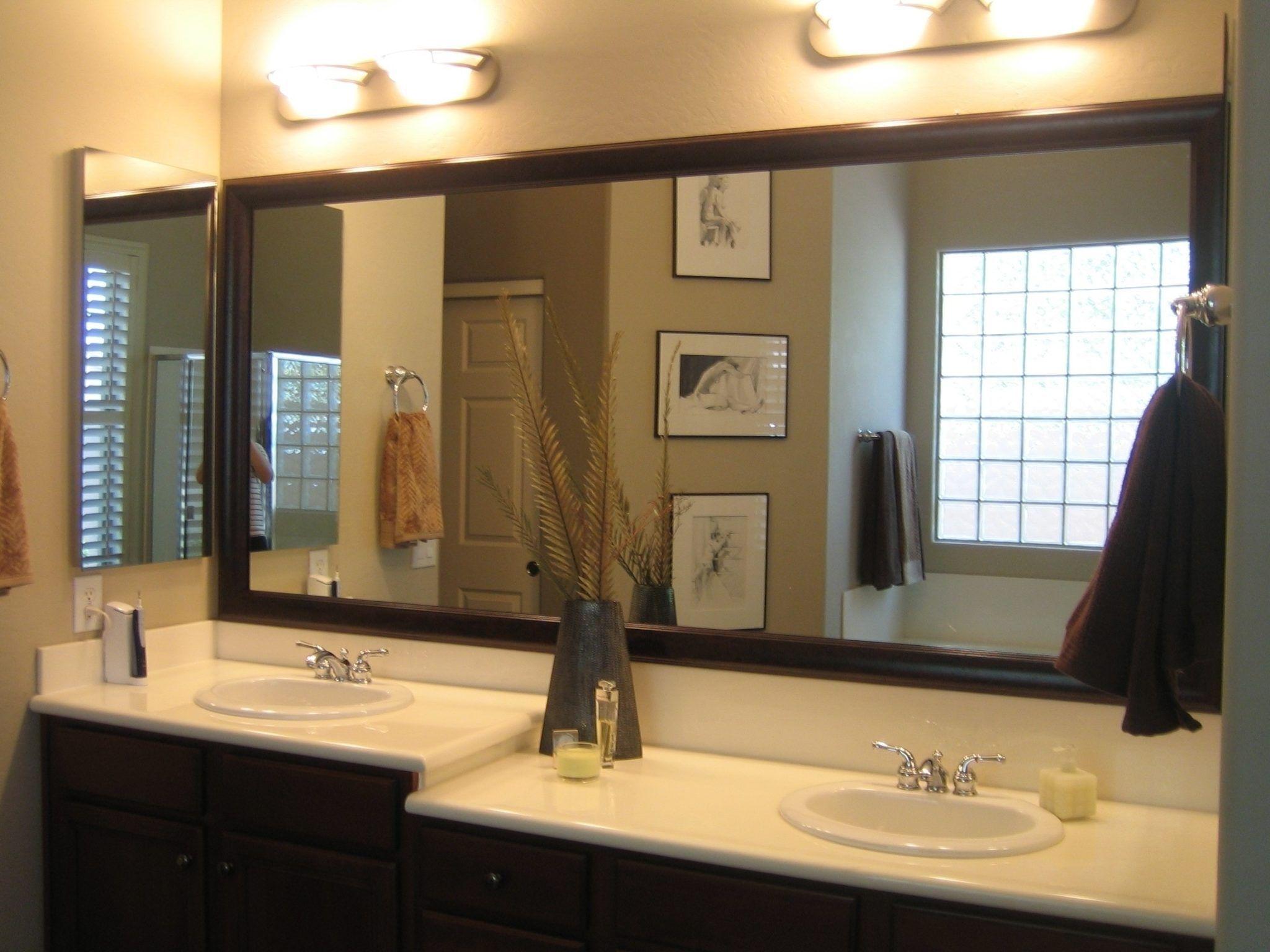 Latest Posts Under Bathroom Vanity Tops  Ideas  Pinterest Gorgeous Large Bathroom Vanity Mirrors Design Inspiration