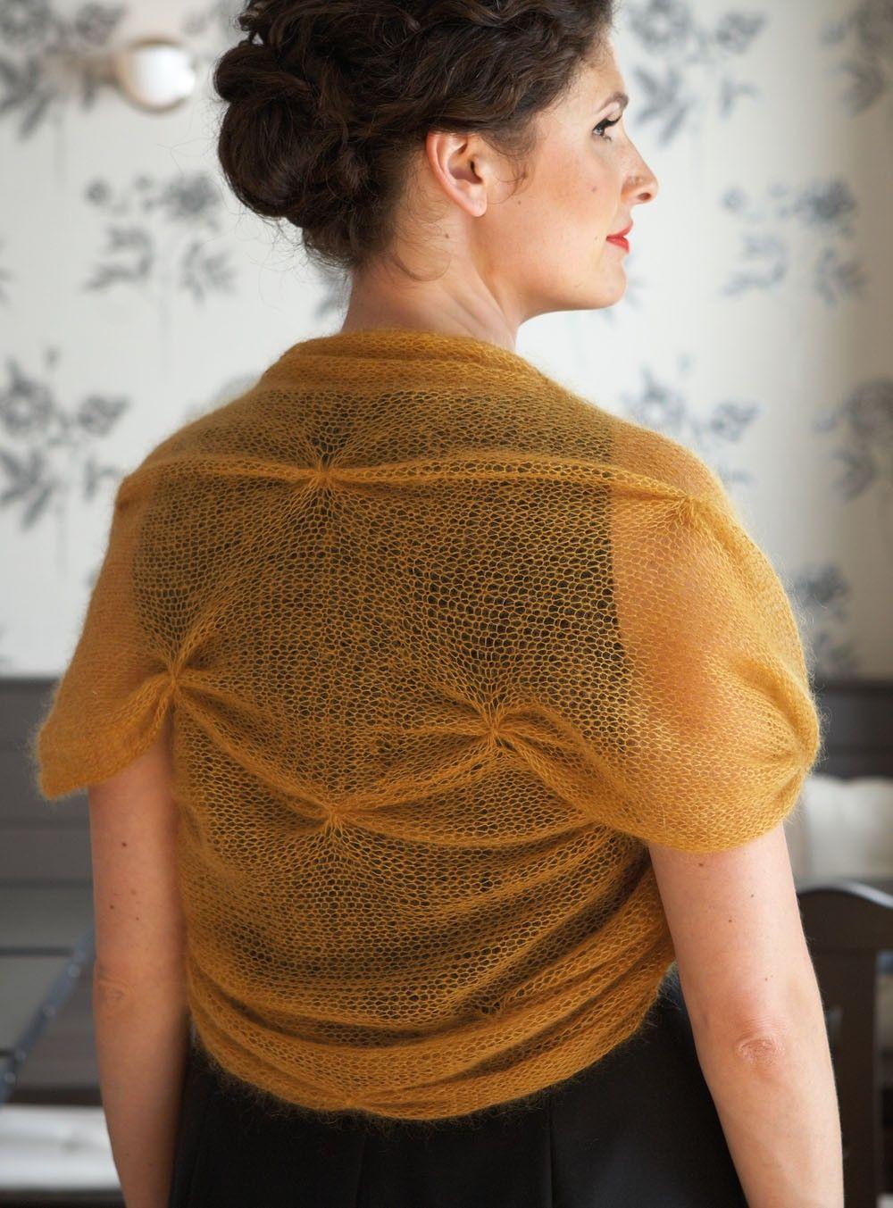 Safran Shrug (Knit) | pre mna | Pinterest | Chrochet, Knit patterns ...