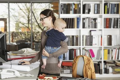 Seven ways to get your home office organized and create a home-based business environment that makes it easier for you to work at home.