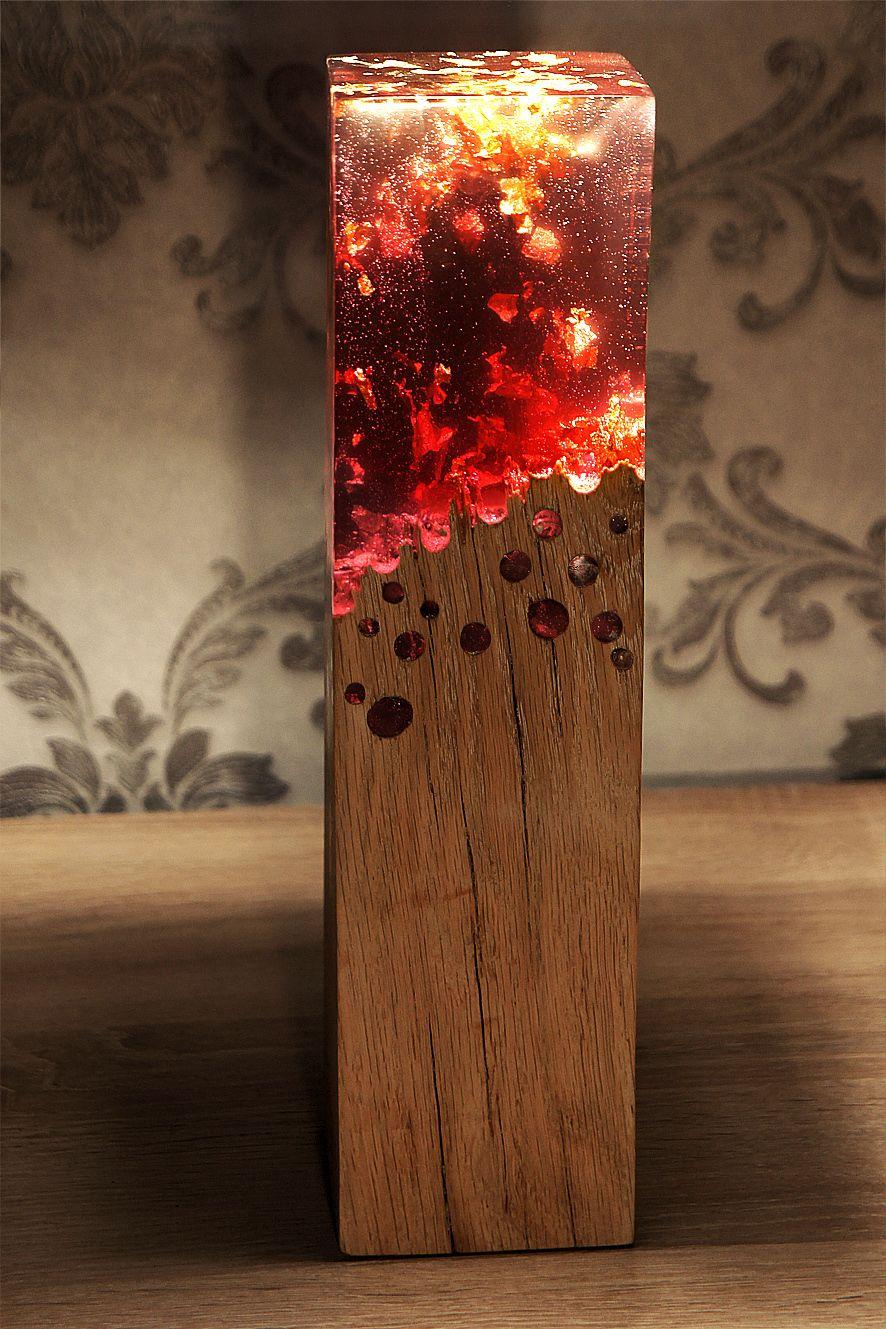 Dark Side Lamp – Eduard Locota – Design Studio | Wood lamps