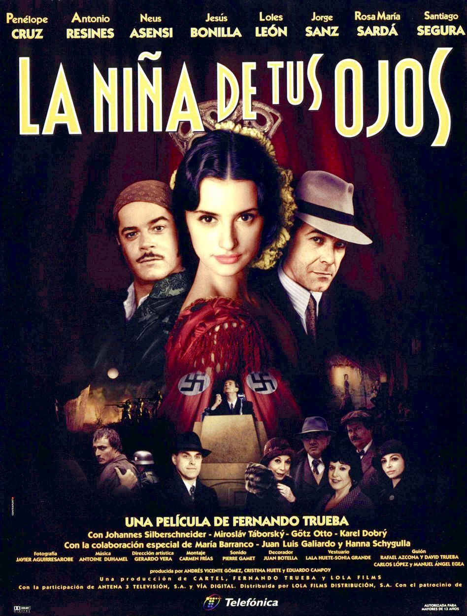 La Niña De Tus Ojos The Girl Of Your Dreams 1998 Carteles De Cine Cine De Barrio Carteles De Películas
