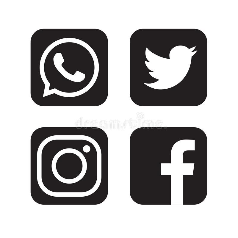 Set Of Popular Social Media Logos Icons Facebook Instagram Twitter Youtube What Facebook And Instagram Logo Instagram Likes And Followers Social Media Logos
