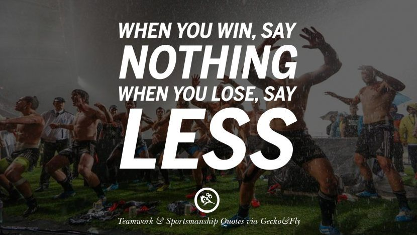 50 Inspirational Quotes About Teamwork And Sportsmanship Teamwork Quotes Sport Quotes Motivational Sports Quotes