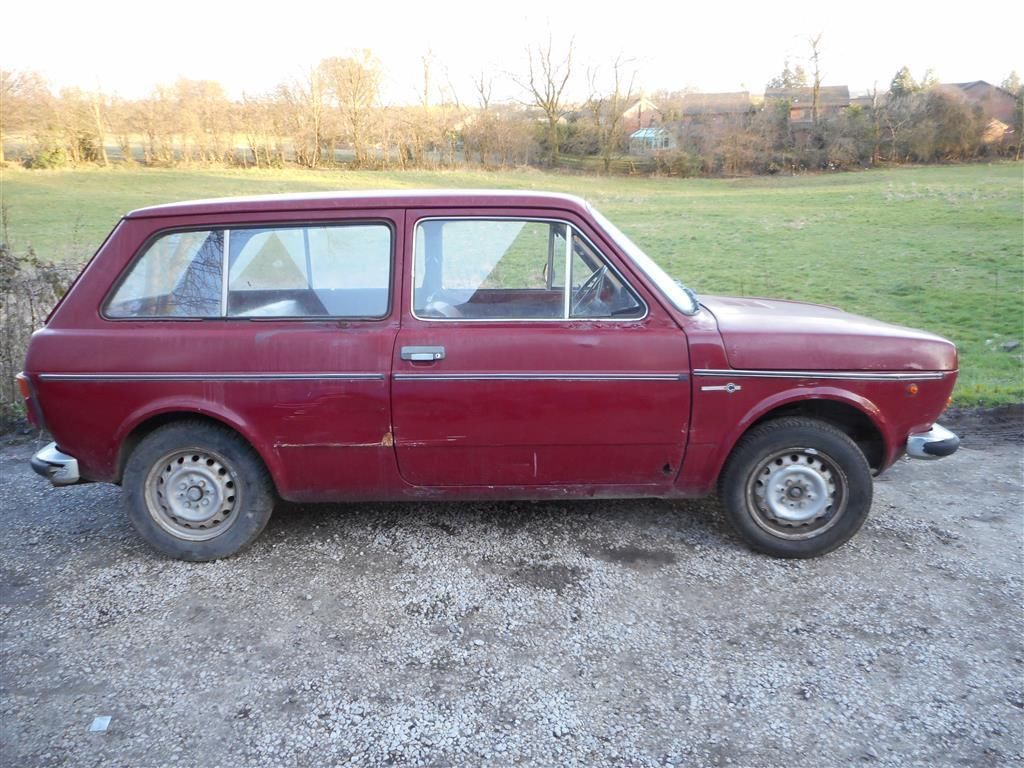 Fiat 127 Estate Prototype With Images Fiat Classic Cars