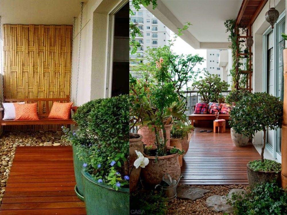 8 ideas para decorar balcones terrazas decorar balcon for Arboles para balcones y terrazas