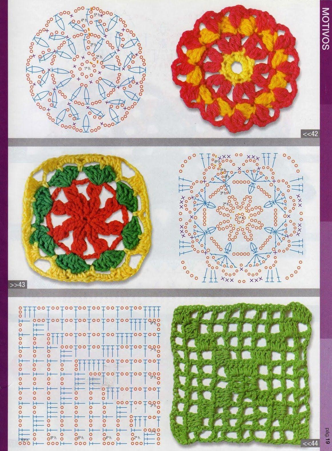 revistas de manualidades gratis | Patrones | Pinterest | Crochet ...