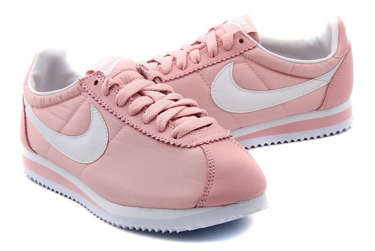 brand new 36307 b3426 Nike Cortez Oxford Cloth Pink White Shoes
