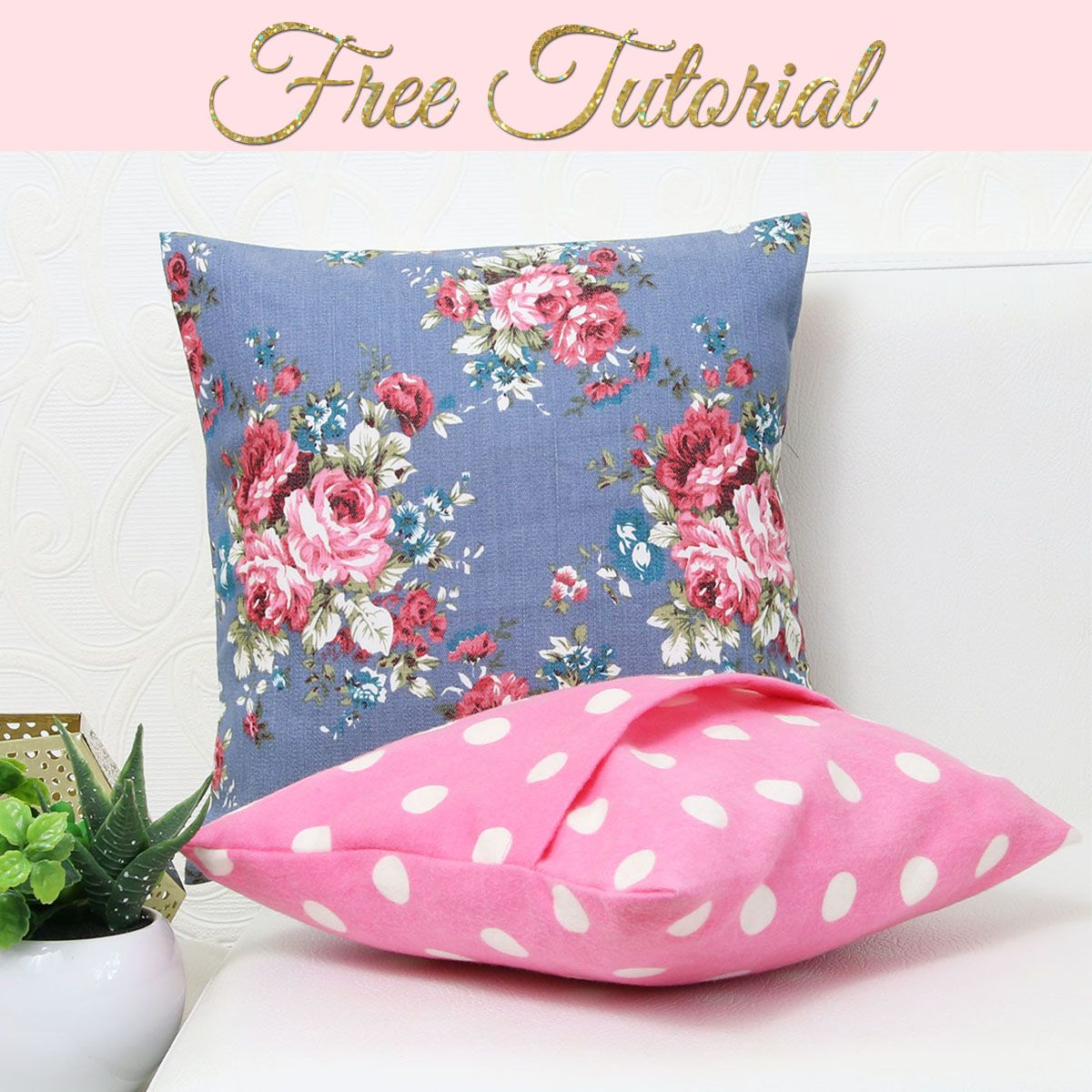 How to Make Cushion Covers | DIY Envelope Covers i