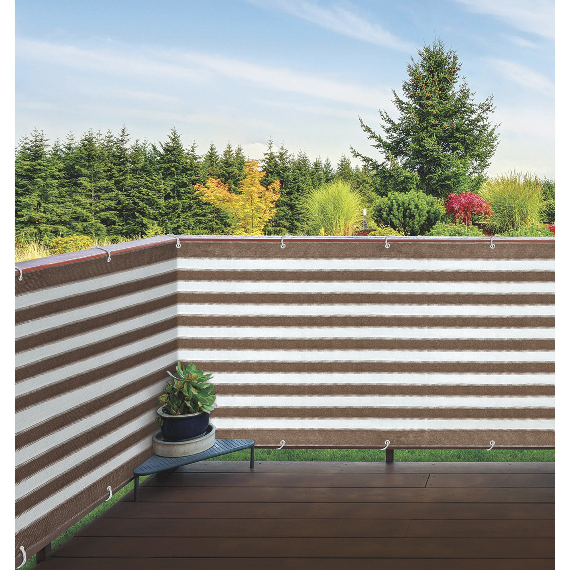 Outdoor Privacy Screen 15ft L X 3ft H Privacy Screen Outdoor Privacy Fence Designs Fence Design