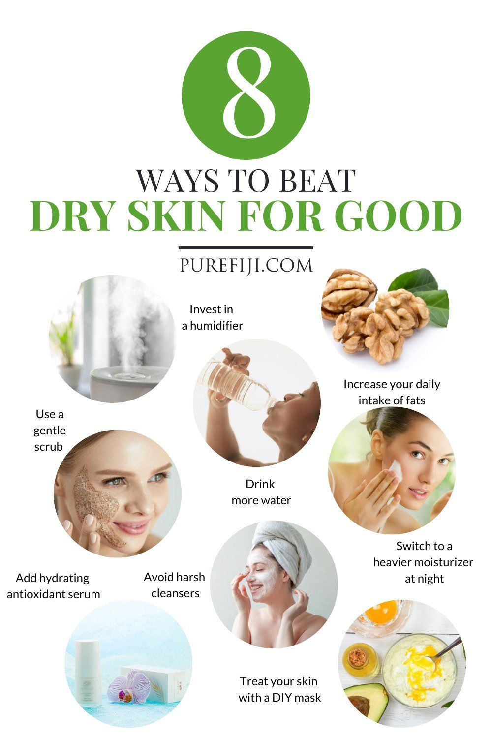 Natural Skin Care Routine And Tips For Dry Skin 8 Easy Steps Natural Skin Care Natural Skin Care Routine Dry Skin Care Routine