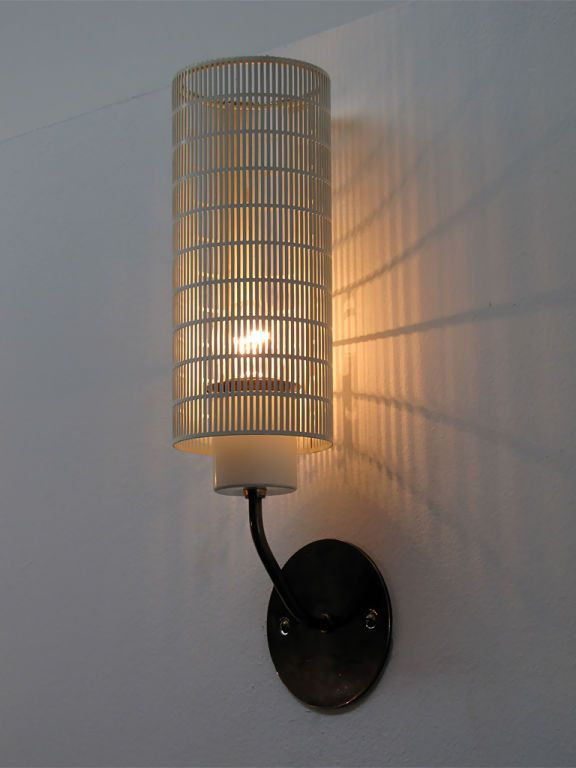 Perforated Wall Lights By Staff Metal Hanging Lights Brass Wall