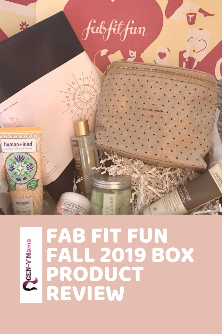 Fab Fit Fun Fall 2019 Box Product Review Fall Fun How To Do Yoga Fabfitfun