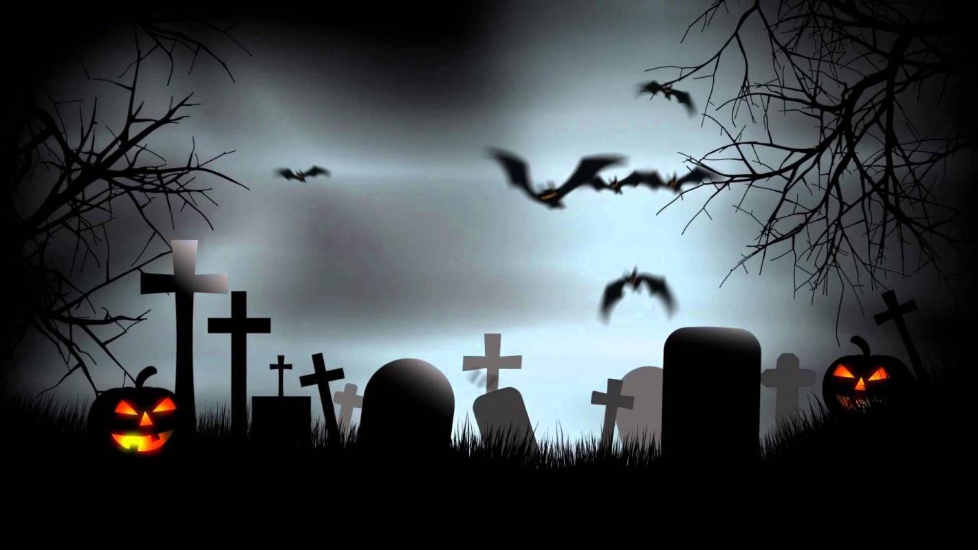 Free Halloween Background Dengan Gambar