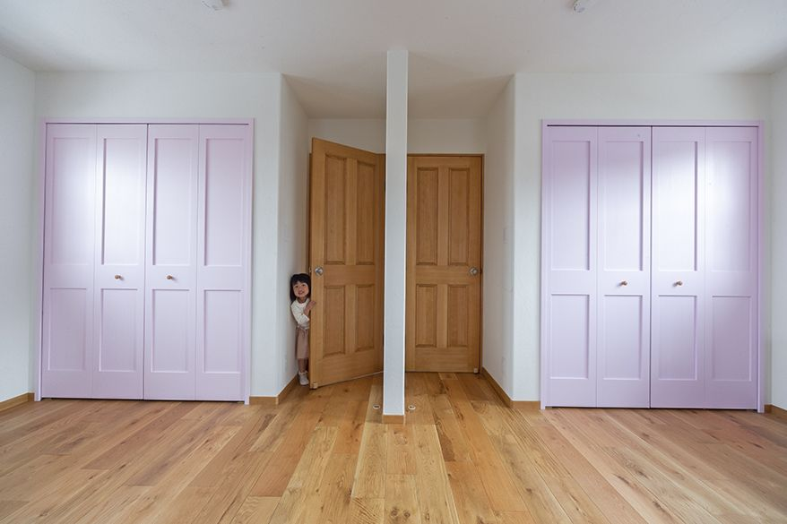 子供部屋収納 子供部屋 間仕切り インテリア雑誌 家