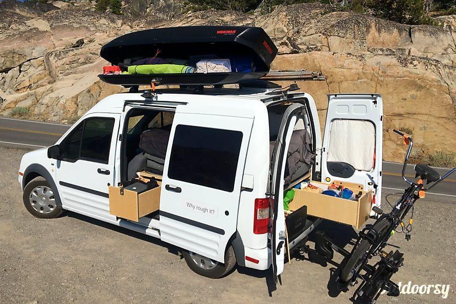 2013 Ford Transit Connect Motor Home Camper Van Rental In San