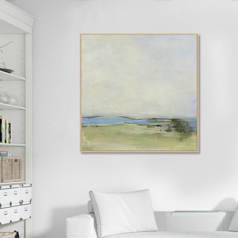 Large Framed Art Canvas Print Large Abstract Landscape Art Etsy Large Framed Art Canvas Art Prints Abstract Art Landscape