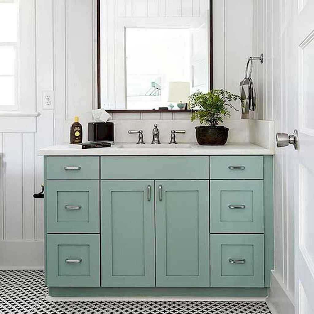 11 Gorgeous Bathroom Cabinet Remodel Ideas 003 Best Inspiration Ideas That You Want In 2020 Home Decor Cabinet Remodel Trendy Paint Colors