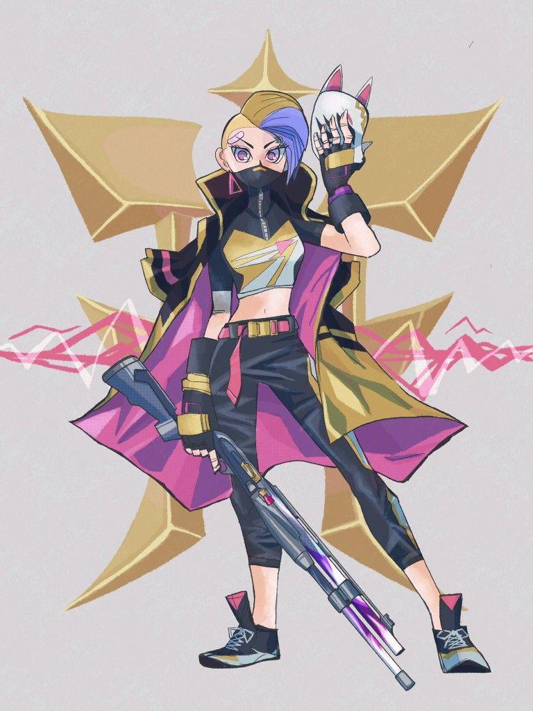 Catalyst Game art, Fan art drawing, Raven art
