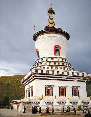 Tawu ར འ Dawu Tau Panchen Lama Seda Chorten Tibet Labor Camp Leaning Tower Of Pisa