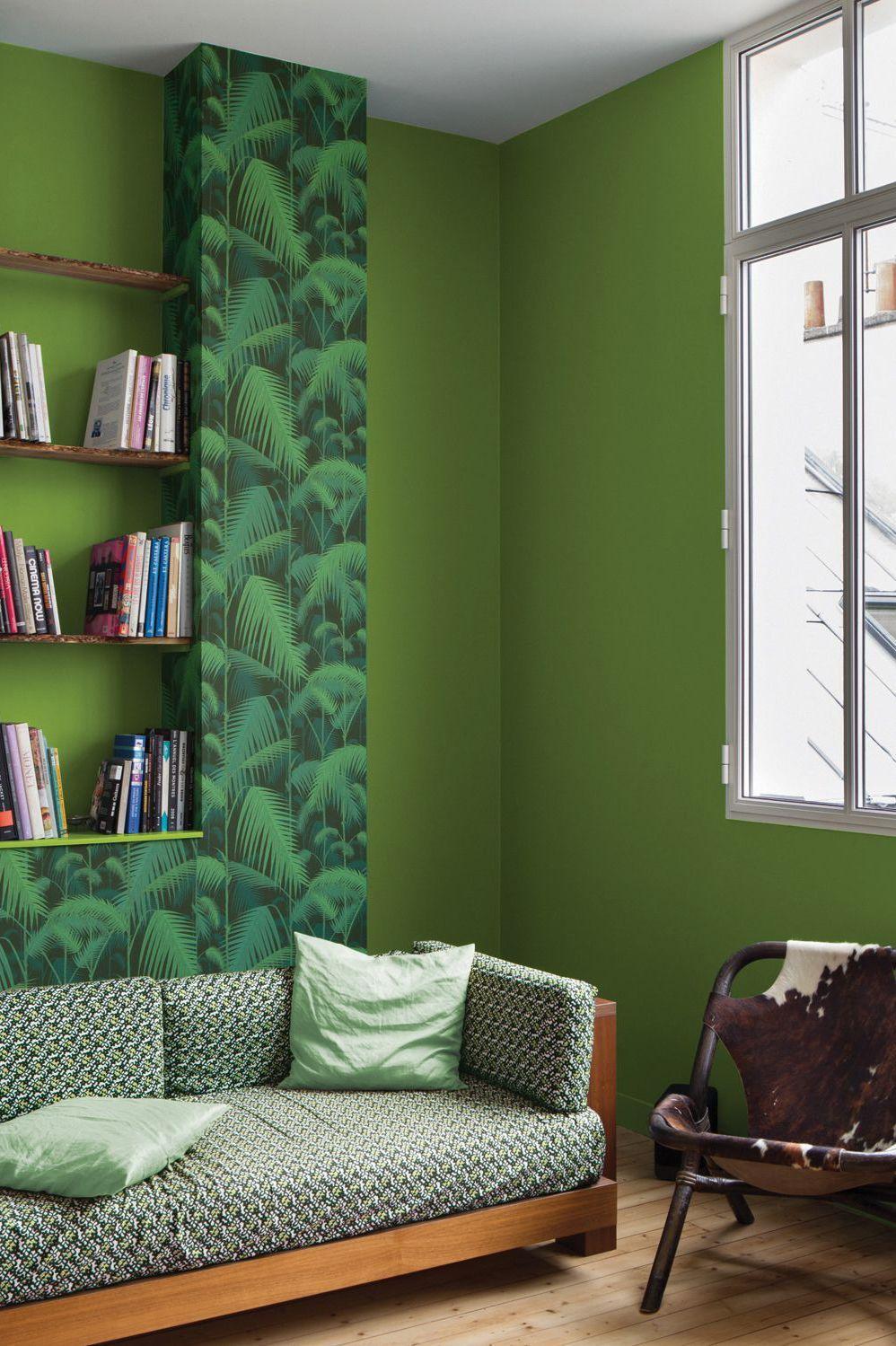 peinture salon : 30 couleurs tendance pour repeindre le salon