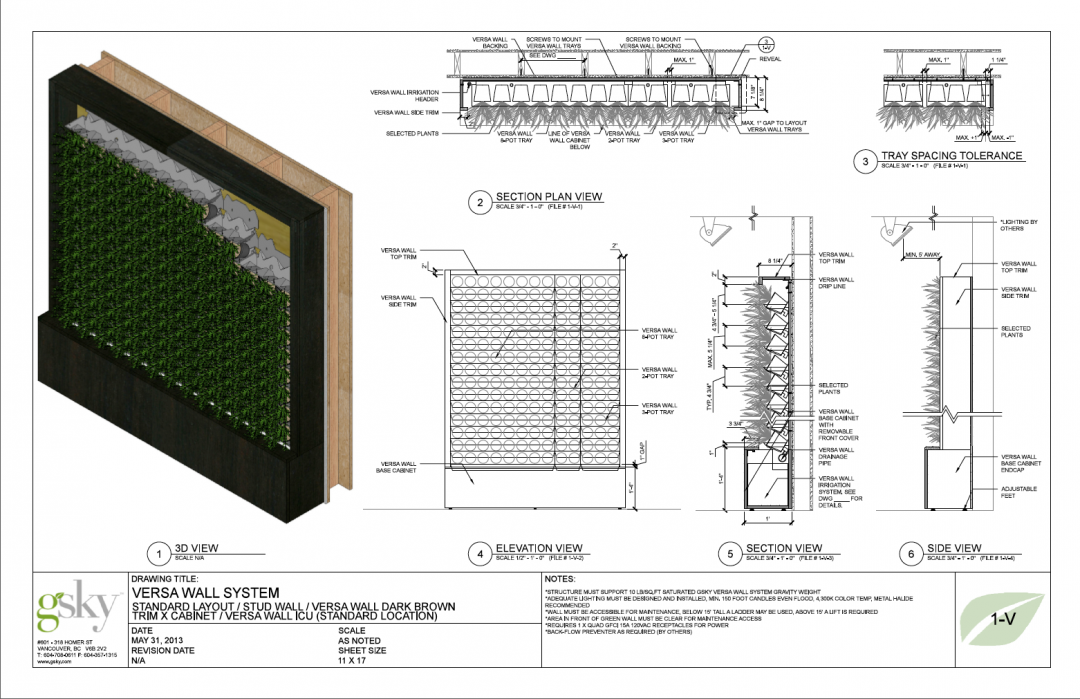 Indoor Living Wall Systems Planter Kit Exterior Diy Live