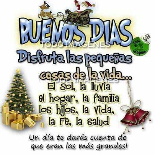 Buenos Dias Saludos De Buenos Dias Buenos Dias Viernes Feliz Navidad