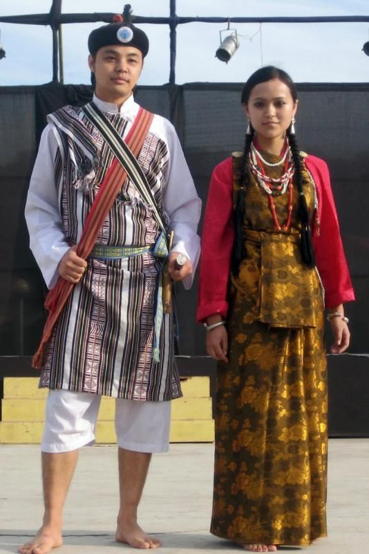eff0413190 Wedding Costume - Sikkim. Wedding Costume - Sikkim North East Indian ...