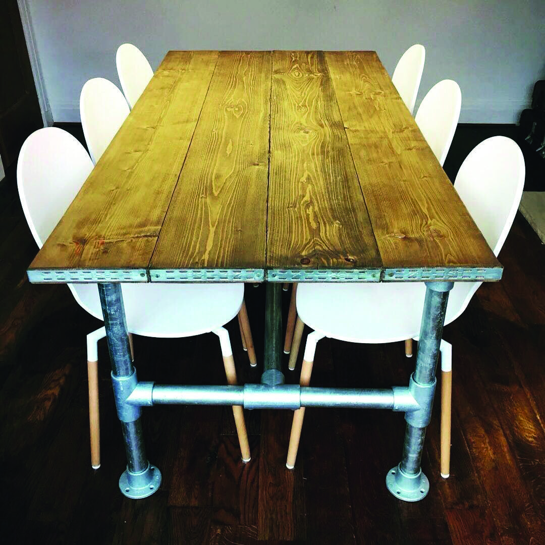 20 Intense Ideas For Outside Eating Dining Table Industrial Dining Table Industrial Style Table