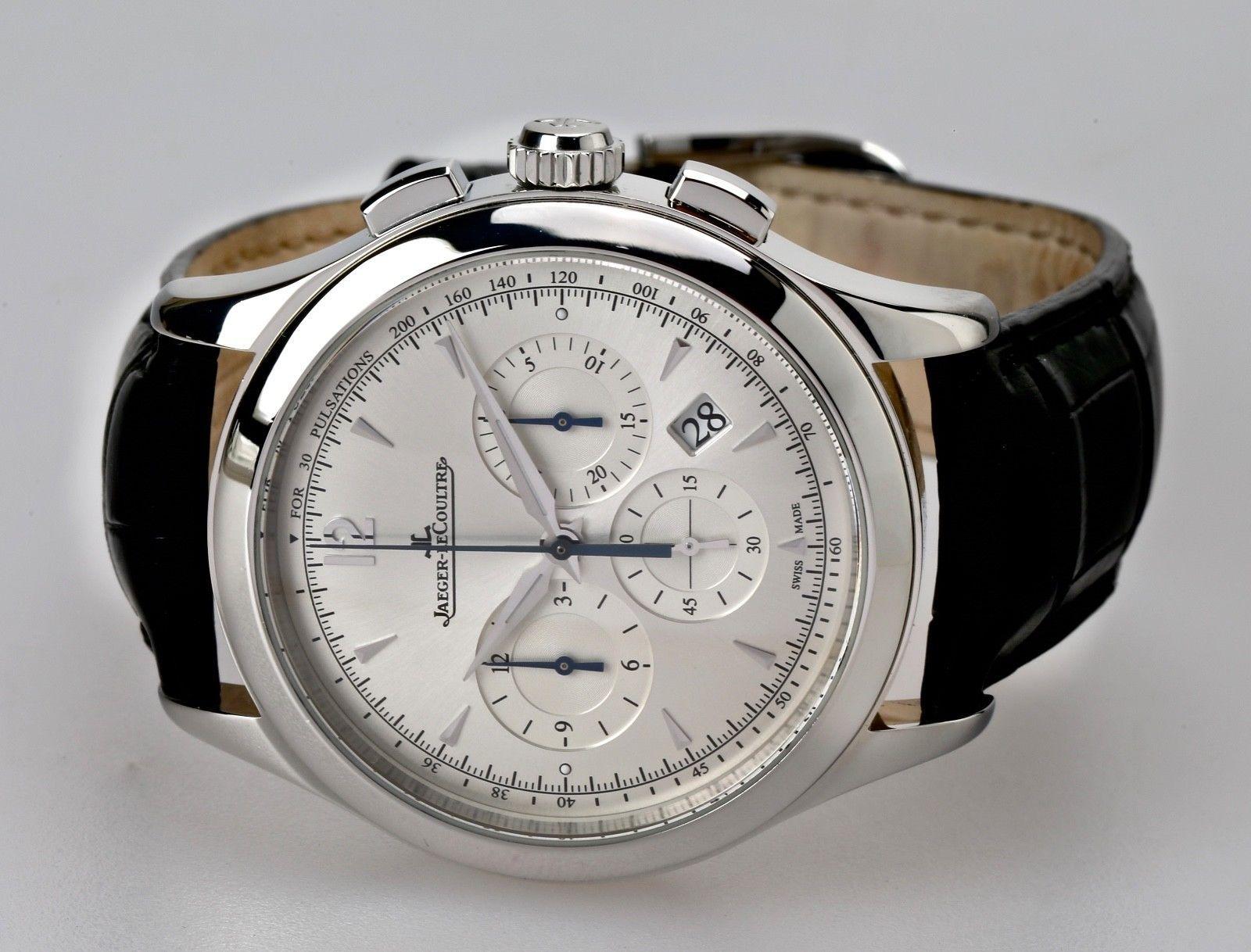 3d70cb84864 Jaeger LeCoultre Master Control Chronograph Automatic Ref  174.8.C1  Wristwatch