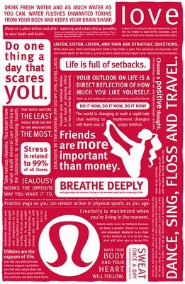 Lululemon Bag Lunch Quotes