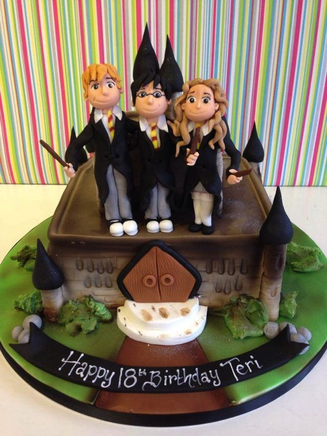 Marvelous Harry Potter 18th Birthday Cake 18th birthday cake