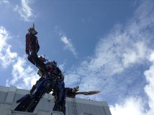 Optimus Prime is now atop Universal's Transformers ride
