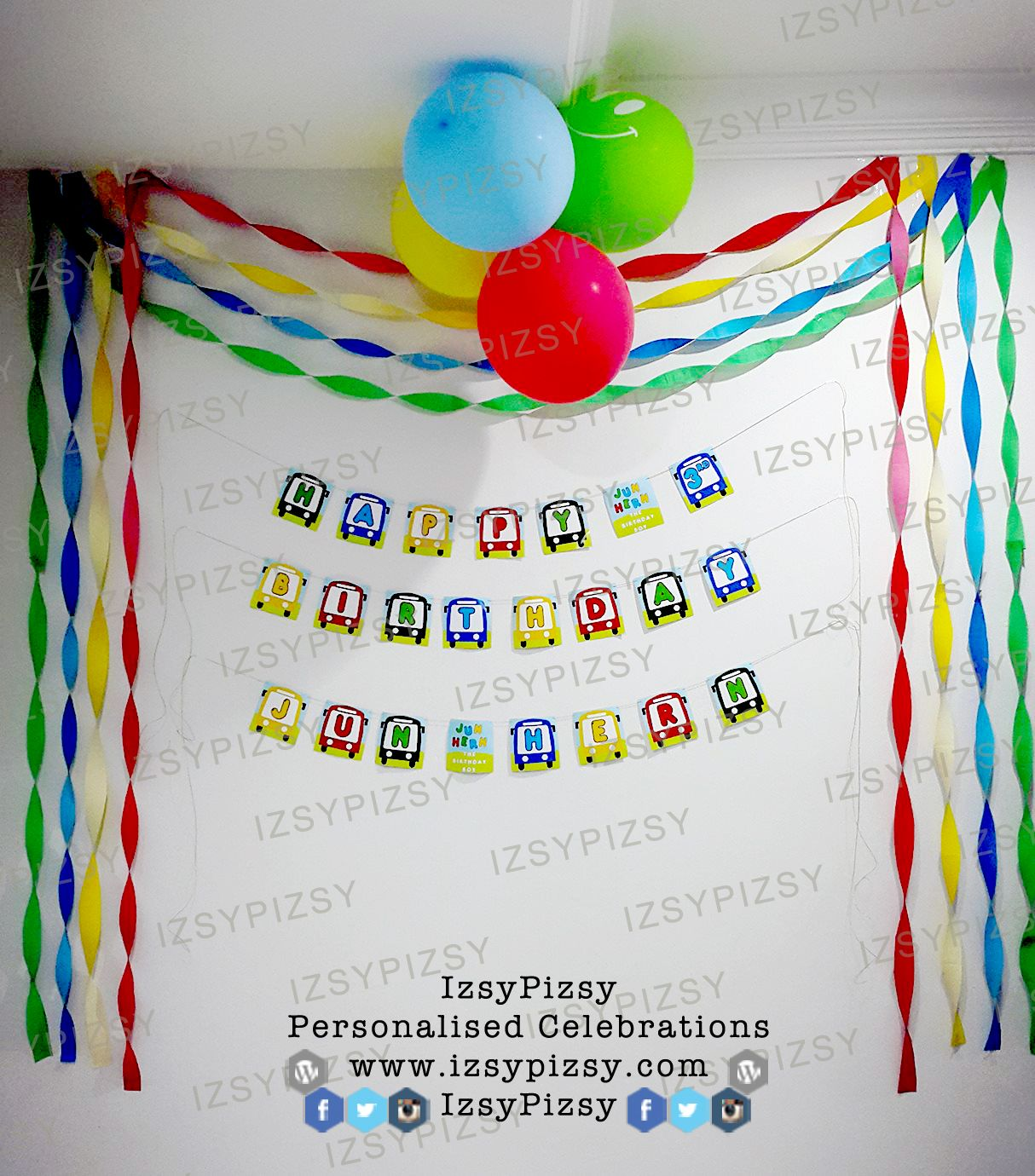 Printable airplane party backdrops party decorations diy template - Birthday Party Ideas