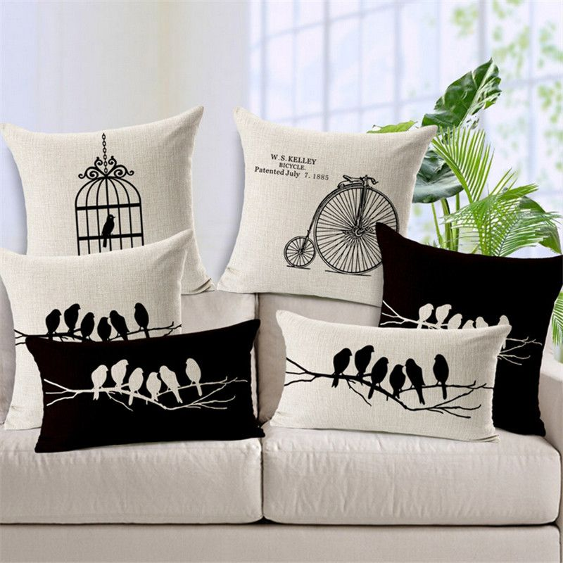 a6910ec6fc5b4e Barato Capas De almofada para sofá De Capa De Almofadas do Vintage ...
