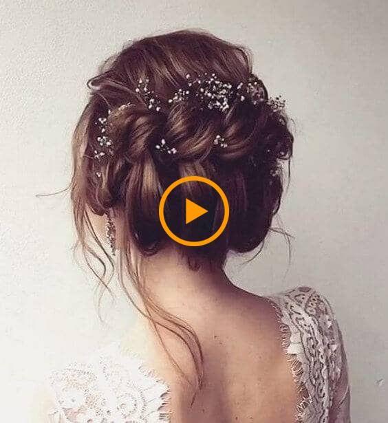 27 impresionantes inspiraciones de peinados de boda: nuevos peinados para mujeres