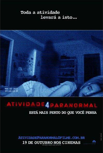 Atividade Paranormal 4 Melhores Filmes De Terror Atividade Paranormal Atividade Paranormal 4
