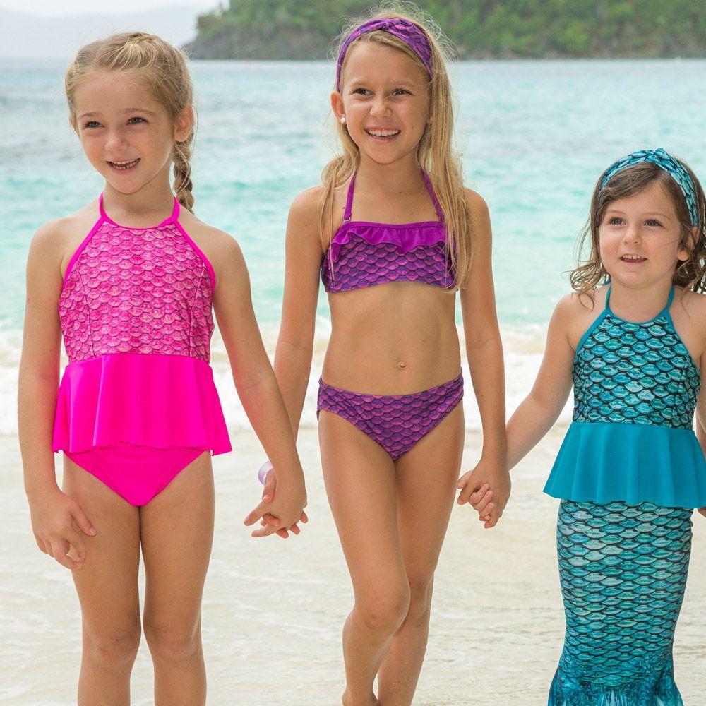 7972d4653eab0 Malibu Pink Peplum Tankini Top | Fin Fun Swimsuits | Swimwear for ...