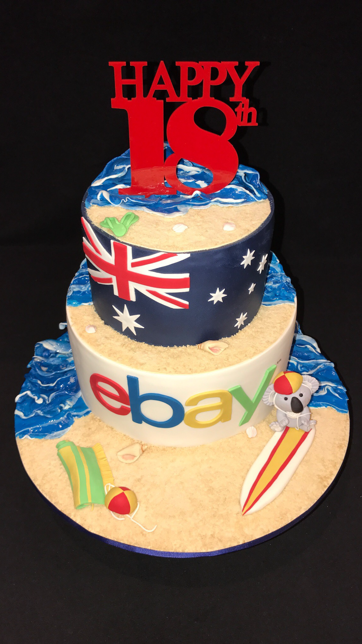 Ebay Cake If Youre Celebrating Being In Australia For 18 Yrs