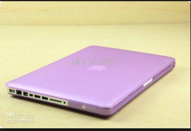 Lavender macbook case