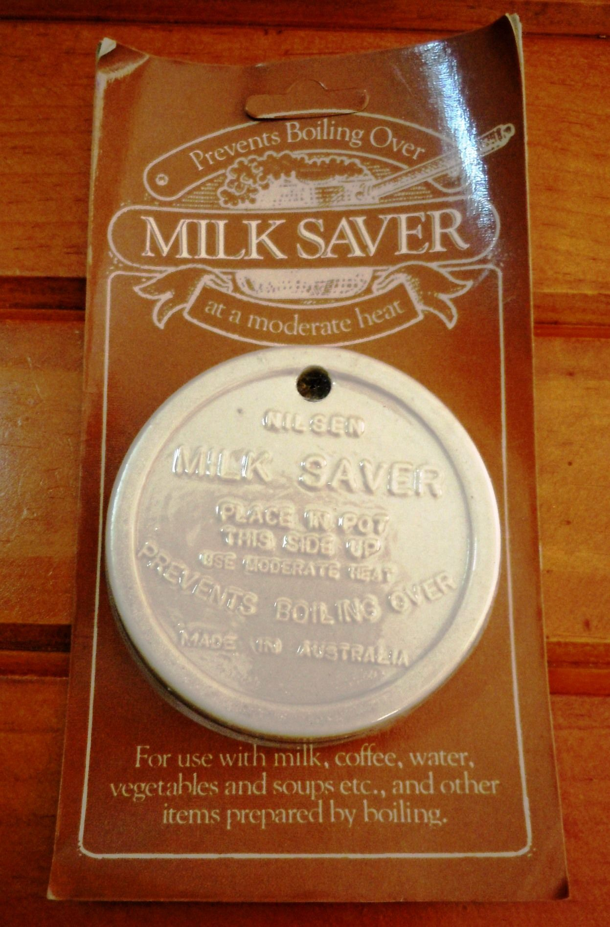 Nilsen Ceramic Milk Saver new in packaging but made to look like a ...