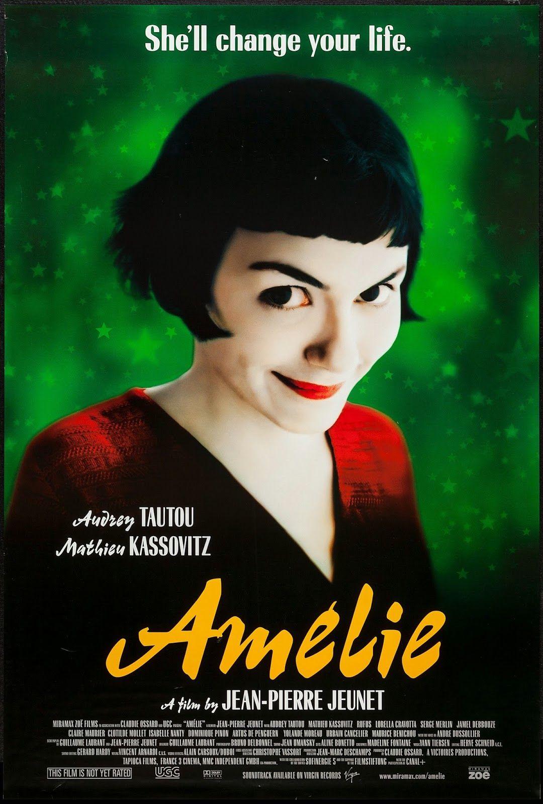 Amélie (2001) Romantic movies, Romantic movies on