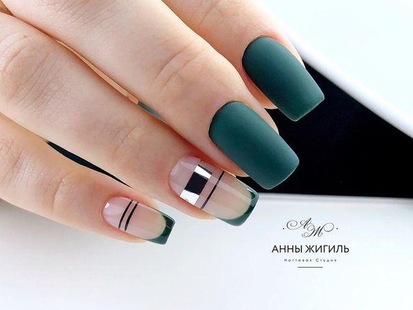 Дизайн ногтей тут! ♥Фото ♥Видео ♥Уроки маникюра | Зеленые ...