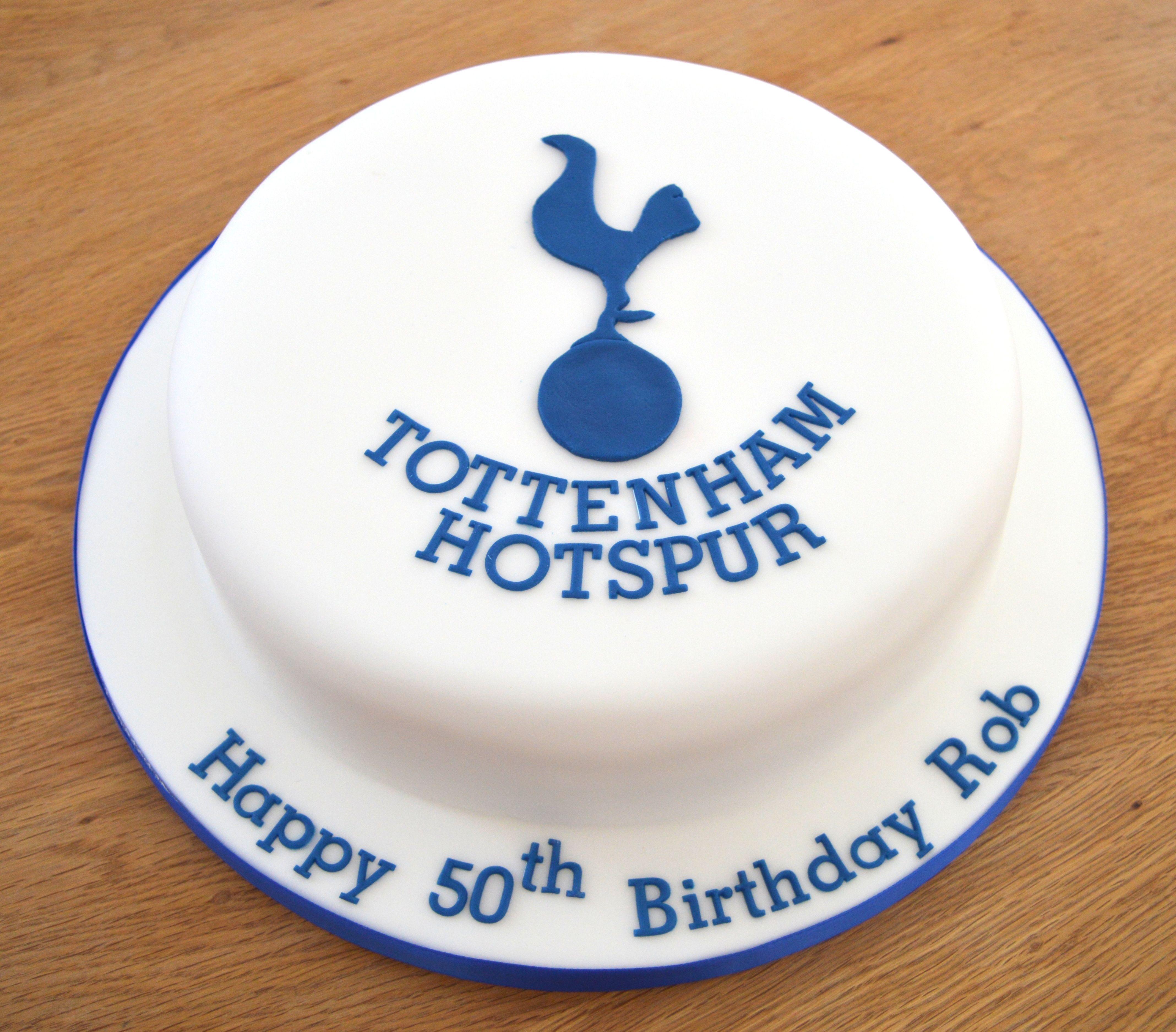 Tottenham Hotspur Sports Themed Cakes Spurs Cake Just Cakes