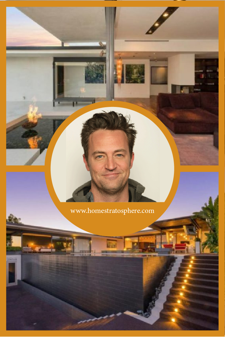 Friends Star Matthew Perry Sells Swanky $13.5M Pad In The Hollywood Hills