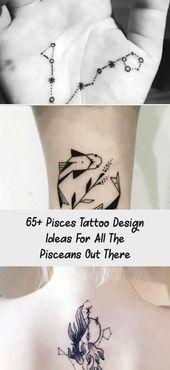 65+ Pisces Tattoo Design Ideas For All The Pisceans Out There - Tattoos and Body... -  65+ Pisces Tattoo Design Ideas For All The Pisceans Out There – Tattoos and Body Art  65+ Fische  - #Body #design #dragontattoo #Ideas #littletattooideas #Pisceans #pisces #piscestattoo #tattoo #Tattoos #unusualtattoos