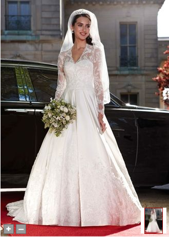 Kate Middleton Inspired Wedding Dress At David S Bridal Sighs