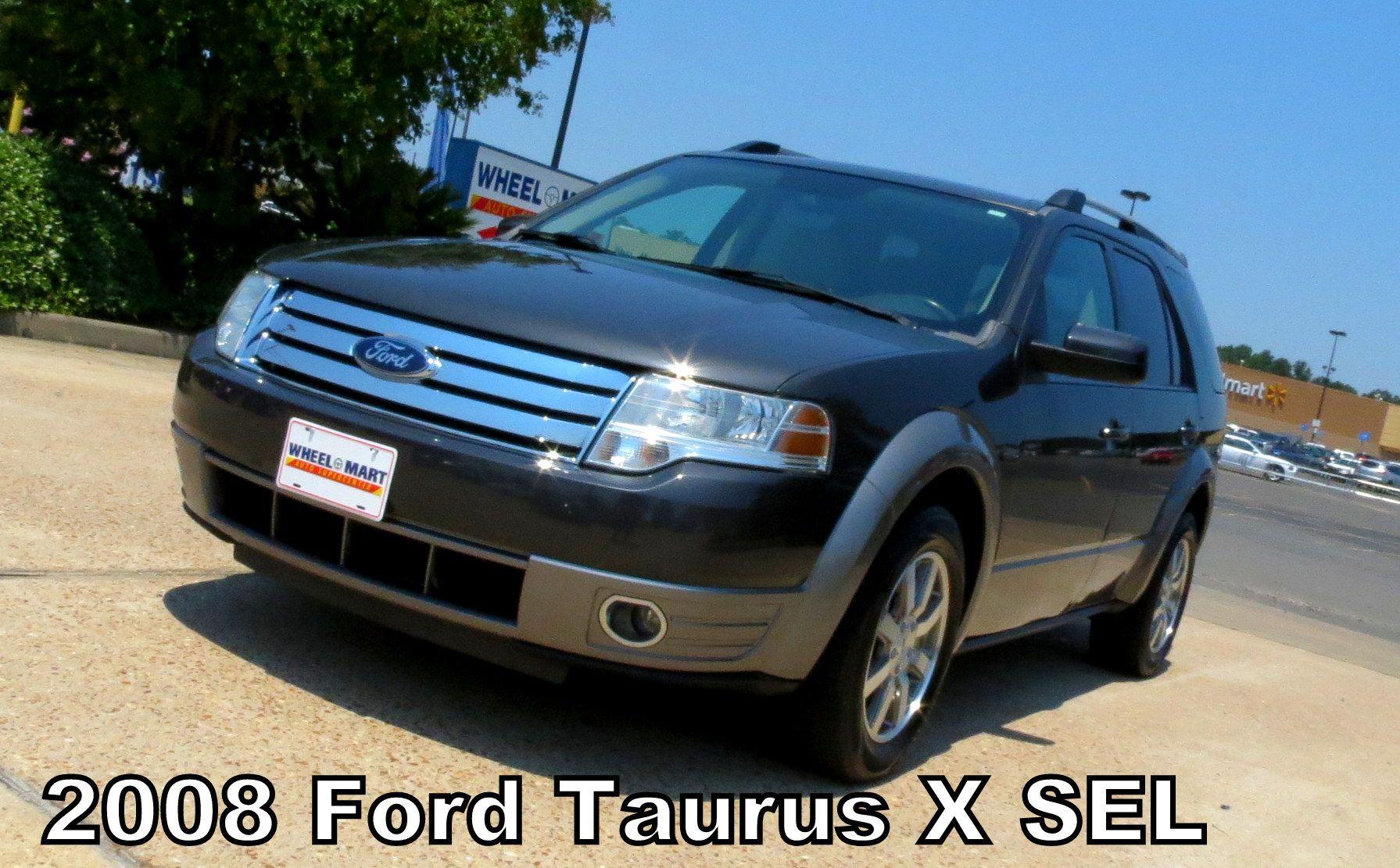 2008 Ford Taurus X Sel Taurus