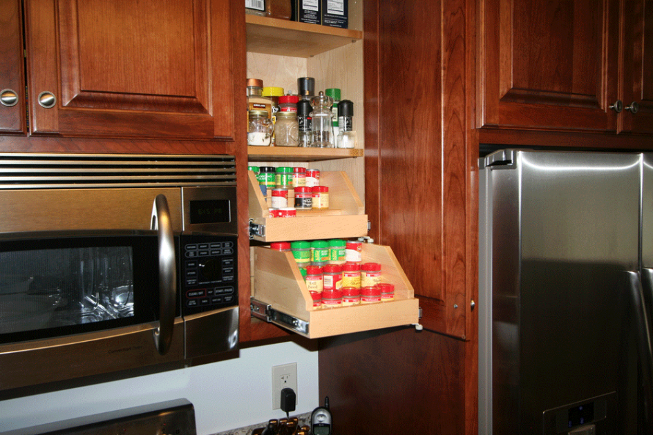 Kitchen Cabinet Extenders Amazing Upper Storage Solutions With Wooden