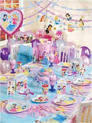 Princess Birthday Party Ideas for Girls